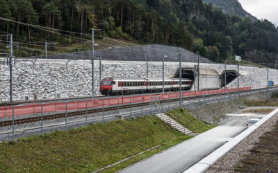 High and dry through the Gotthard tunnel