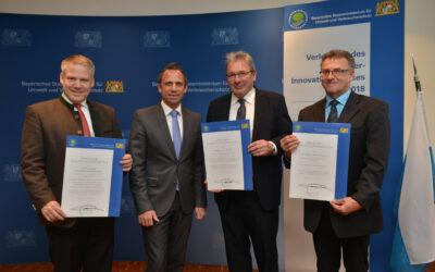 Bayern: Abwasser-Innovationspreis 2018 verliehen
