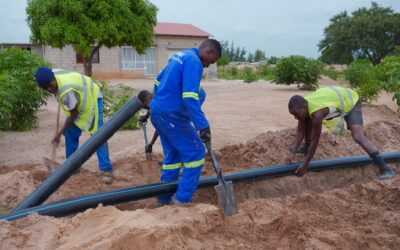 Project to provide sustainable water supplies to over 50,000 people
