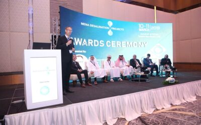 GCC is the world's biggest producers of desalinated water