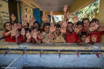 Händewaschen kann Leben retten