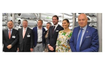 Europe's first plant for direct water reuse inaugurated in Sweden