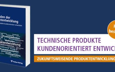 """Neu erschienen: 3. Auflage der """"Methoden der Produktentwicklung"""""""