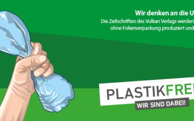 Vulkan-Verlag versendet ab sofort plastikfrei