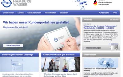 HAMBURG WASSER nach Hackerangriff wieder online