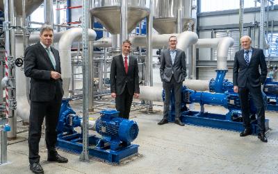 Phosphor-Recyclinganlage von HAMBURG WASSER und REMONDIS