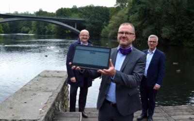 ENERVIE-Sensor sorgt für smarten Gewässerschutz