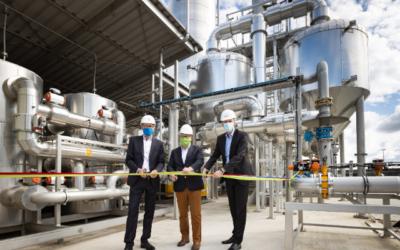 Klärwerk Hamburg: Neue Gasaufbereitung geht in Betrieb