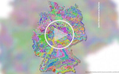 Online-Tool zeigt Bodenfeuchte in Deutschland
