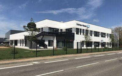 Endress+Hauser investiert 2 Mio. Euro in den Ausbau des Standorts Lyon
