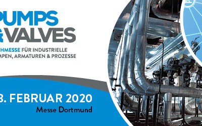 PUMPS & VALVES 2020 in Dortmund