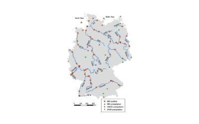 Messdaten zu Tritium in Niederschlägen und Oberflächengewässern öffentlich