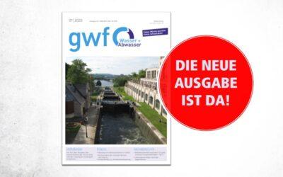 gwf Wasser|Abwasser 1/2020: Wie Infrastrukturen fit werden für den Klimawandel