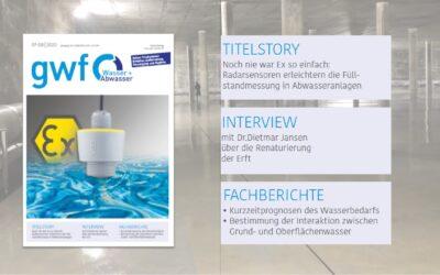 gwf Wasser|Abwasser 7-8/2020: Alles zum Thema Trinkwasser