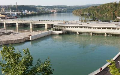 Einblick ins Wasserkraftwerk