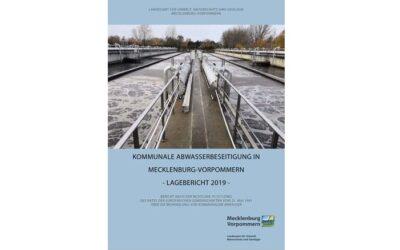Neuer Lagebericht zur kommunalen Abwasserbeseitigung in MV veröffentlicht