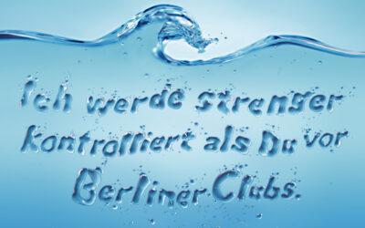 Berliner Wasser spricht für sich