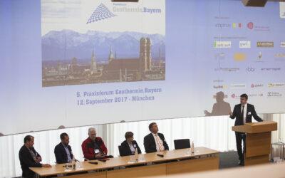6. Praxisforum Geothermie.Bayern 2018