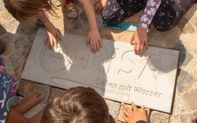 RISA-Pilotprojekt: Schwamm-Schulhof mindert Starkregen-Folgen