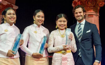 Thai students win 2016 Stockholm Junior Water Prize