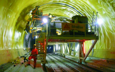 Gotthard: Sika-Kompetenz baute mit