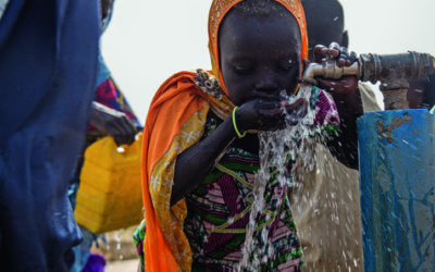 Unsafe water: biggest threat for children in conflict areas