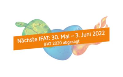 Messe: Die IFAT fällt 2020 aus