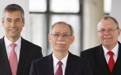 Wechsel im Ruhrverbands-Vorstand: Harro Bode übergibt Vorsitz an Norbert Frece, Prof. Norbert Jardin wird neuer Technikvorstand