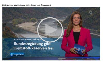 Wasserknappheit am Rhein führt zu Treibstoffmangel