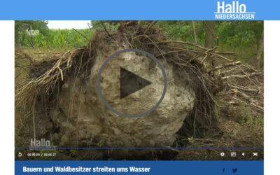 Landwirte und Waldbesitzer streiten ums Wasser