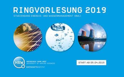 """Ringvorlesung """"Energie- und Wassermanagement"""" an der HRW"""