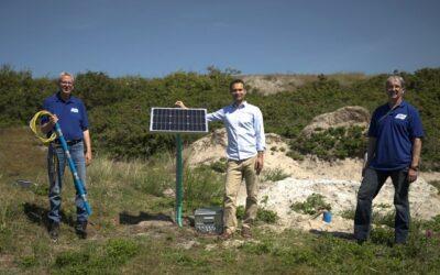 Salzwasser-Überwachungssystem auf Spiekeroog installiert