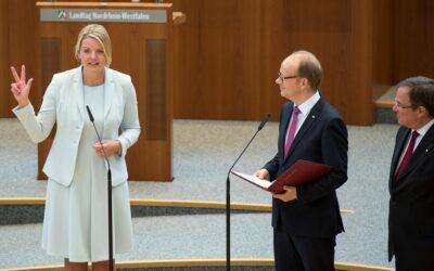 Morddrohung: Christina Schulze Föcking vom Ministeramt zurückgetreten