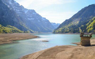 Trockengefallende Gewässerbereiche setzen hohe CO₂-Mengen frei