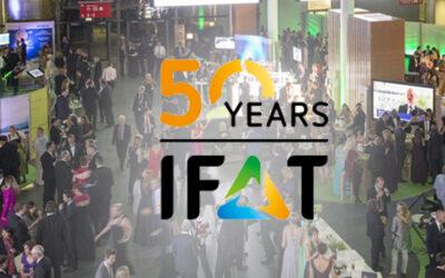 Runder Geburtstag: die IFAT wird 50