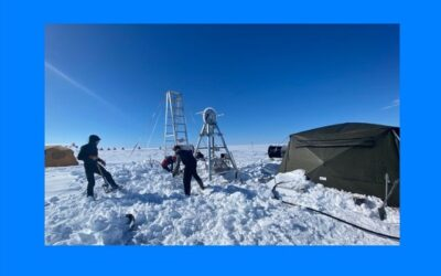 Record warm water found in Antarctica