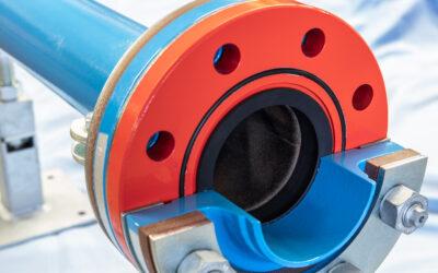 Isolierflanschverbindungen für Wasser und flüssige Medien