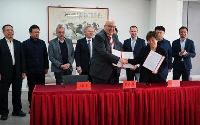IKT am Aufbau einer Forschungseinrichtung in China beteiligt