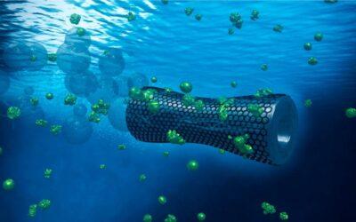 Mikroroboter reinigen Wasser