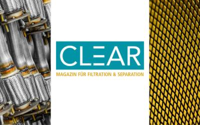 Launch eines neuen Fachmagazins zur Filtration und Separation