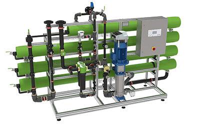 Optimal entsalztes Wasser durch neue Umkehrosmoseanlagen osmoliQ