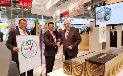 IKT-Siegel und Zertifikat für ACO