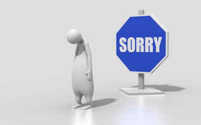 Es tut uns leid!