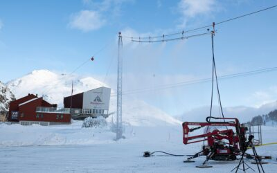 Schneiseile sollen Abschmelzen von Gletschern verlangsamen