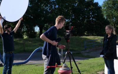 Video-Besichtigung in der Abwasserreinigung AZV Südholstein