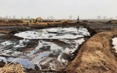 Schritte zur Regeneration des Gewässersystems im Alten Land