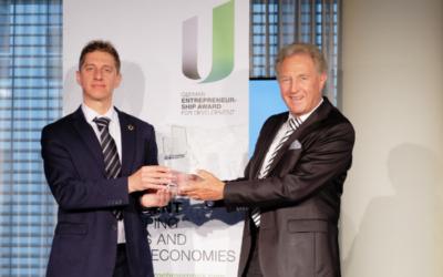 Lösung zur Wasserdesinfektion mit deutschem Unternehmenspreis für Entwicklung ausgezeichnet