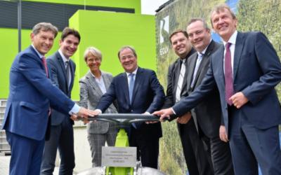 Emscher-Umbau: Pumpwerk Oberhausen wird eingeweiht