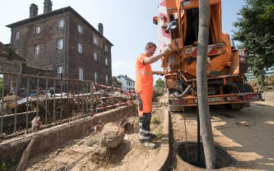 Kanalisation: Kommunen helfen Kommunen nach Starkregen-Katastrophe