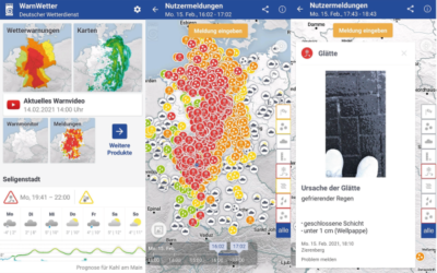 Private Wettermeldungen sind ein Datenschatz